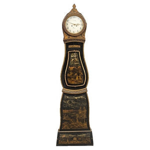 Mora Clock Chinoiserie Black
