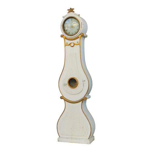 Mora clock cream and gold