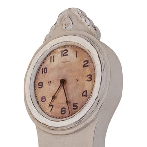 Mora Wall Clock Antique Grey - face detail side