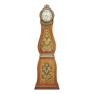 Mora Clock from Sweden with decorative painting