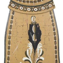 Mora Clock dated 1836 with detail and body paint detail