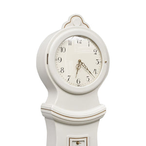 mora clock face with glass