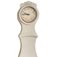 Mora Clock - Antique White - face