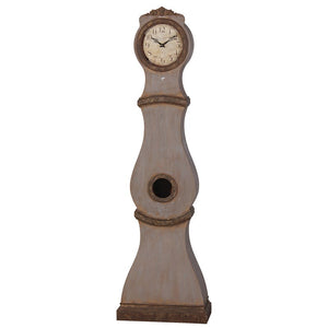 Umber painted replica Mora Clock