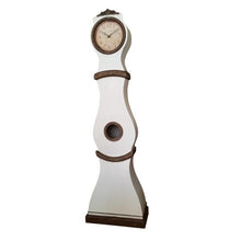 Mora Clock - Swedish White with Umber/Gold