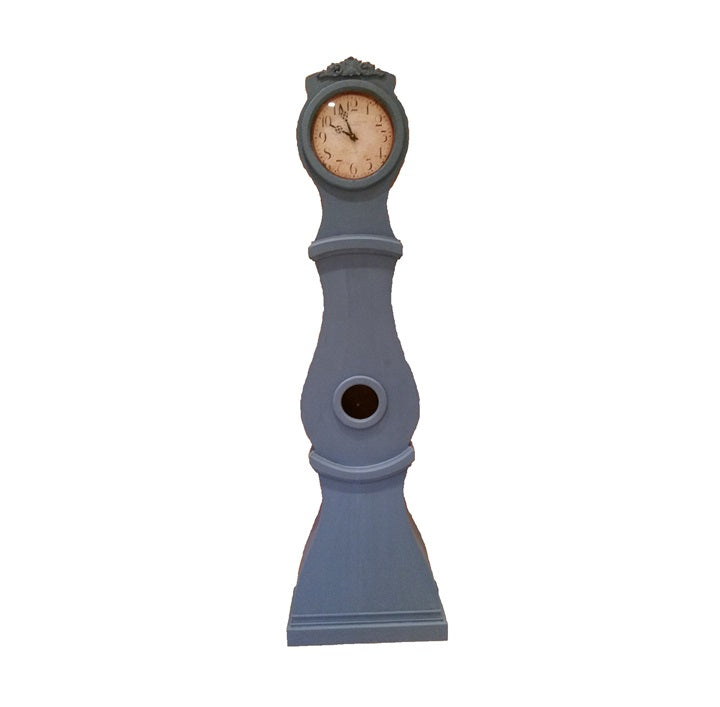 Reproduction Mora Clock in Swedish Blue
