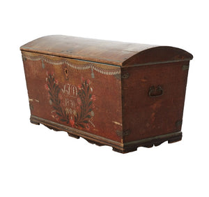 Swedish Wedding Chest, 1840