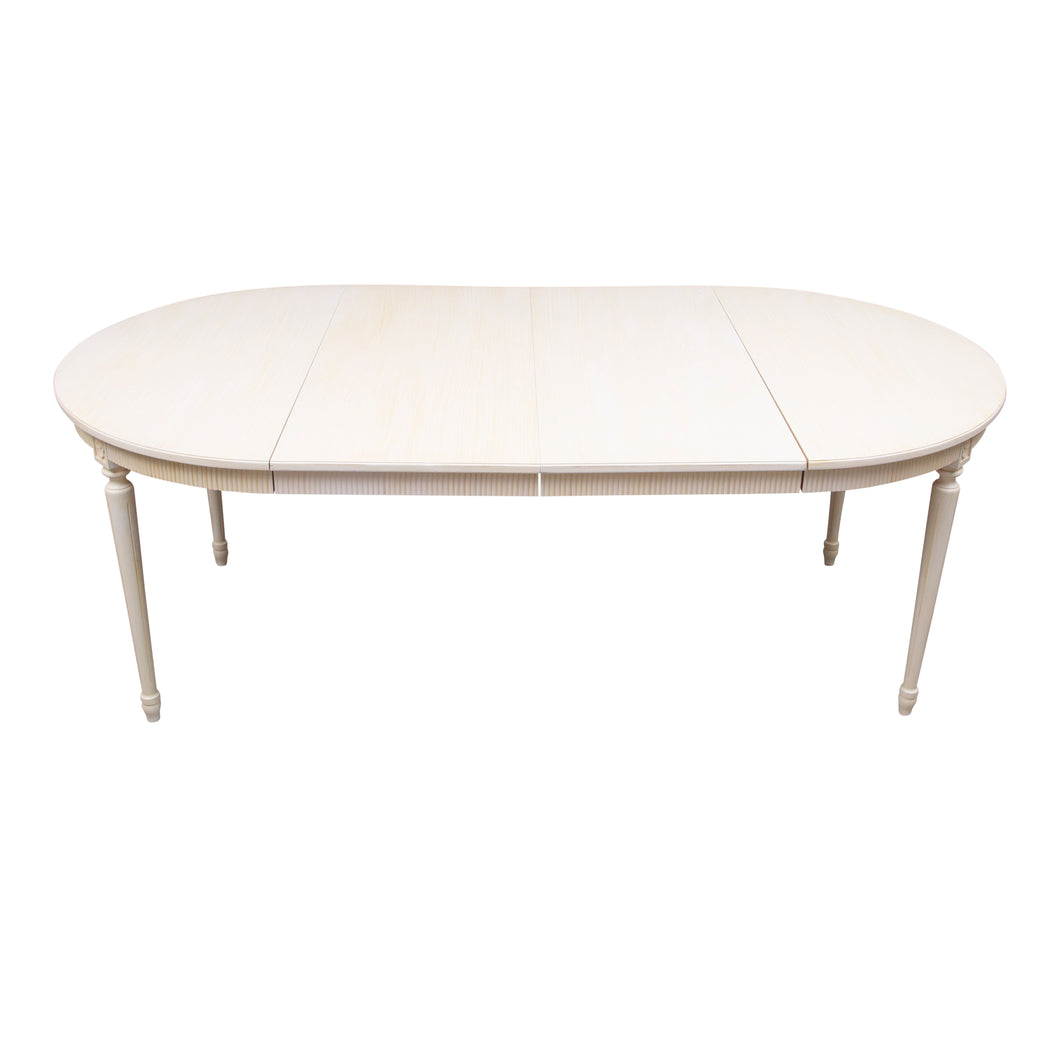 Gustavian Dining Table and leaves