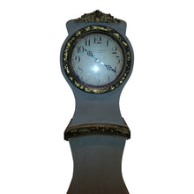 Umber painted replica Mora Clock - face
