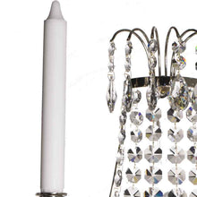Wall Lights - Crystal Wall Light In Nickel