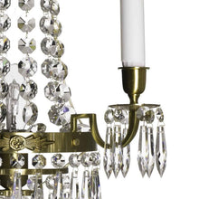 Wall Lights - Crystal Wall Light Light Brass