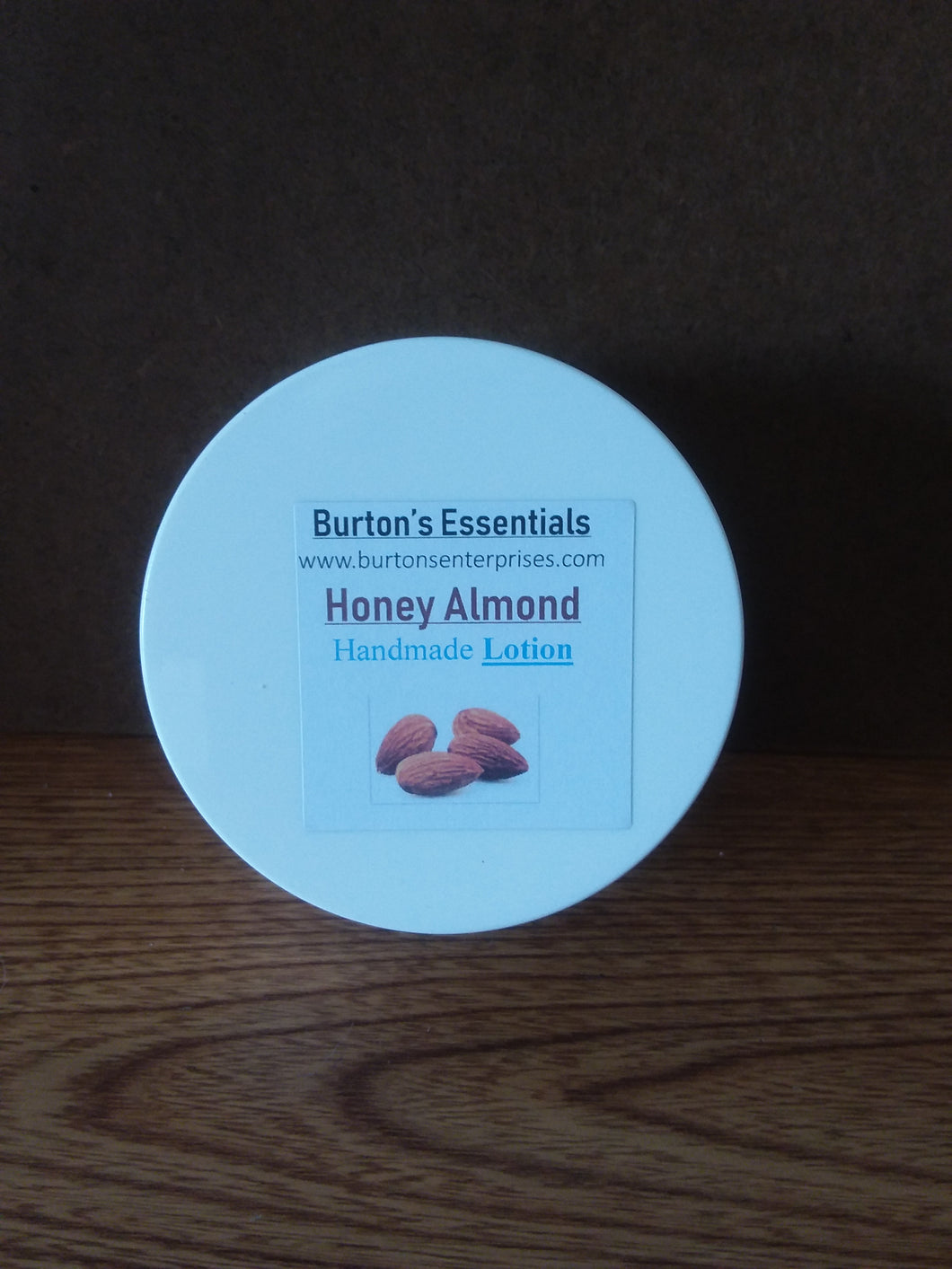 Honey Almond Lotion (8oz jar)