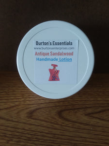 Antique Sandalwood Lotion 8oz wide mouth jar