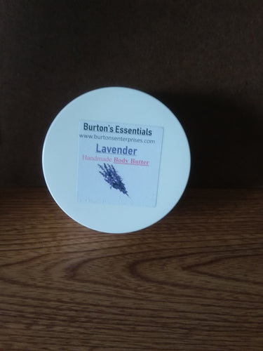 Lavender Body Butter (8 oz jar,)