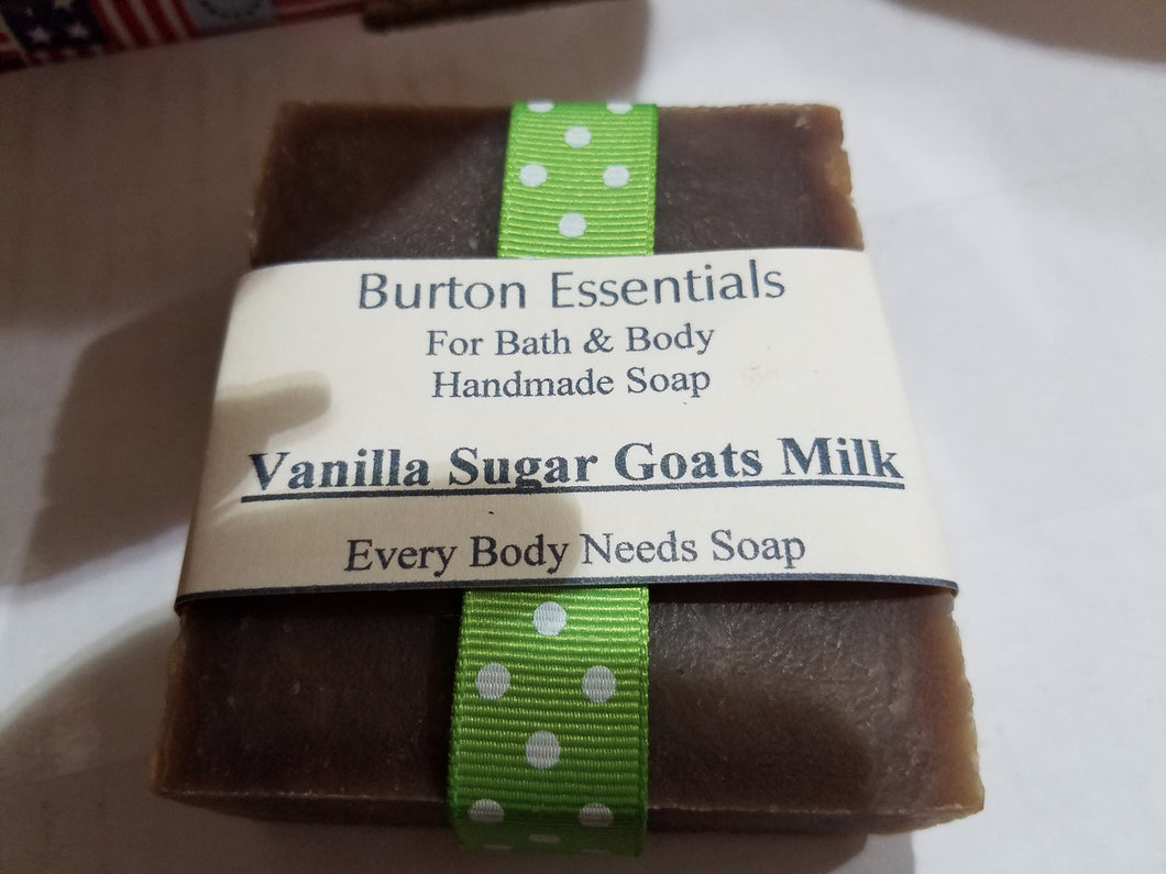 Vanilla Sugar Goats Milk Soap Bar