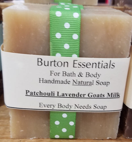 Patchouli Lavender Goats Milk Soap Bar