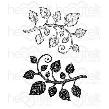 Classic Leaf Cling Stamp Set (Limited Edition)
