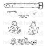 Pampered Pooch Pals Cling Stamp Set (Limited Edition)