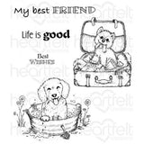 Pampered Pooch Cling Stamp Set (Limited Edition)