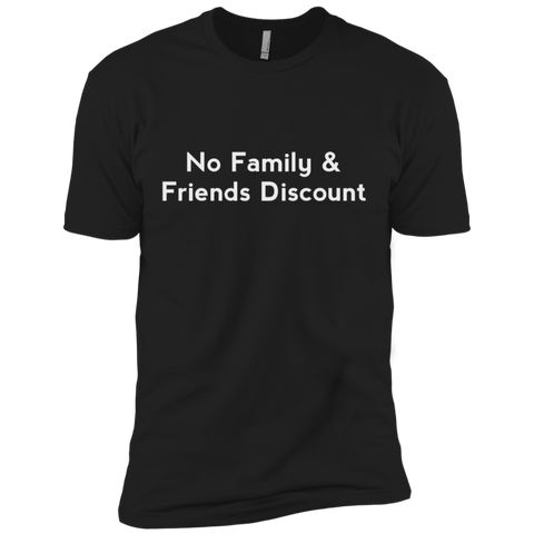 No Family & Friends Discount