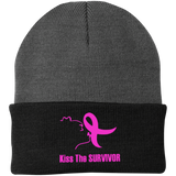 Kiss The Survivor Port Authority Knit Cap