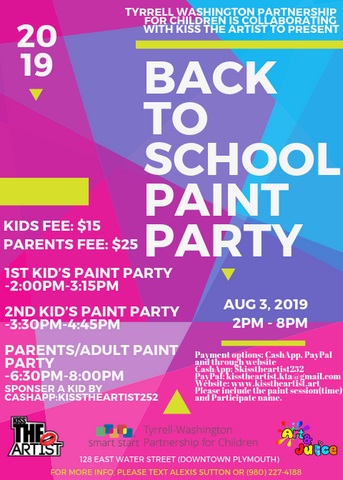 Back to school Paint Party!