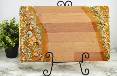 Transparent Gold CheeseBoard