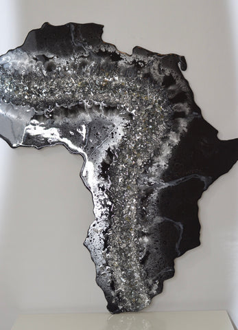 Africa Silver & Black