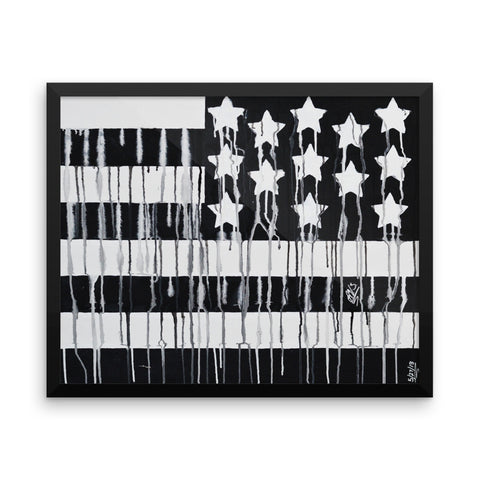 Black America Framed Poster