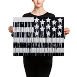 Black America Canvas