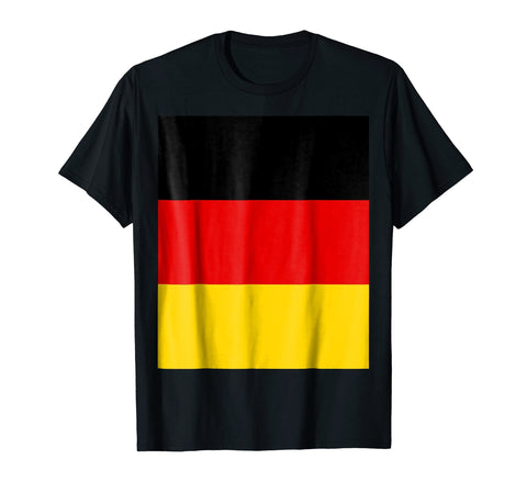 Yellow House Outlet: Flag of Germany T-Shirt