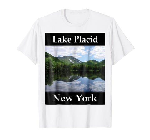 Yellow House Outlet: Lake Placid, New York T-Shirt