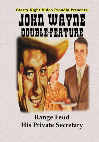 John Wayne Double Feature #1 - Range Feud & His Private Secretary
