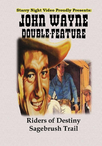 John Wayne Double Feature #3 - Riders of Destiny & The Sagebrush Trail