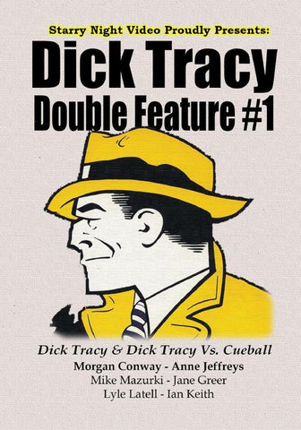 Dick Tracy Double Feature #1 - Dick Tracy & Dick Tracy Vs. Cueball