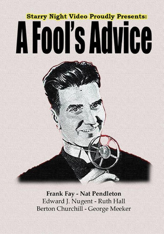 A Fool's Advice