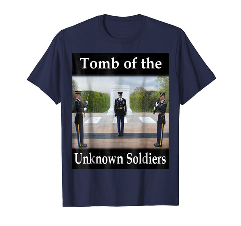 Yellow House Outlet: Tomb of the Unknown Soldiers T-Shirt
