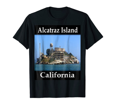 Yellow House Outlet: Alcatraz Island T-Shirt