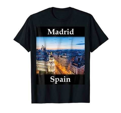 Yellow House Outlet: Madrid, Spain T-Shirt