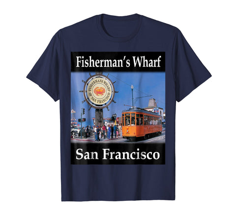 Yellow House Outlet: Fisherman's Wharf T-Shirt