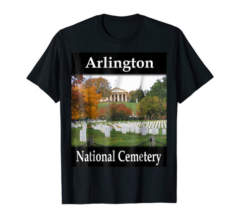 Yellow House Outlet: Arlington National Cemetery T-Shirt
