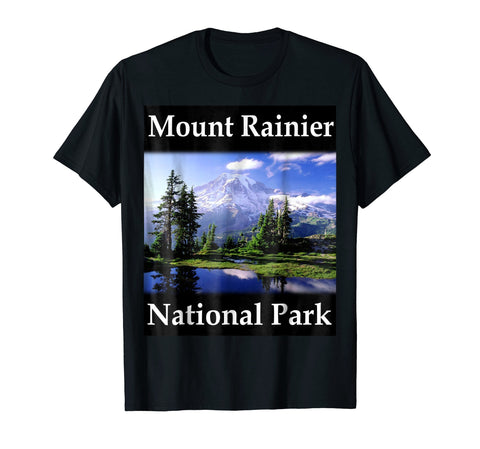 Yellow House Outlet: Mount Rainier National Park T-Shirt