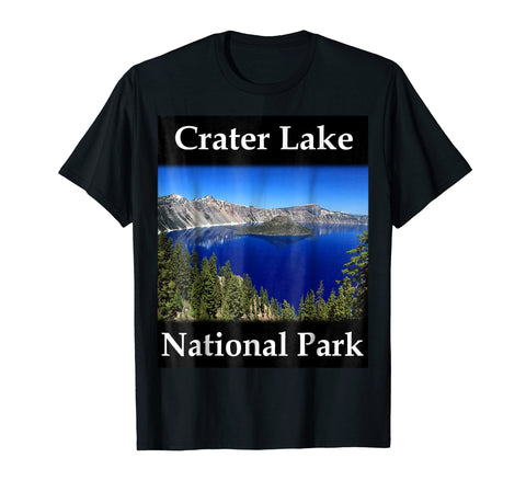 Yellow House Outlet: Crater Lake National Park T-Shirt
