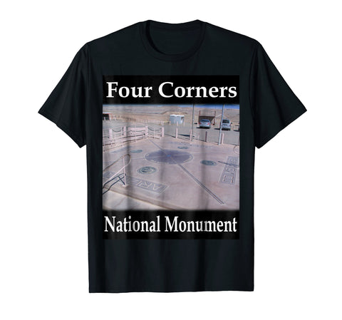 Yellow House Outlet: Four Corners Monument T-Shirt