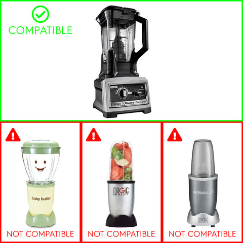 Compatible with Nutri Ninja blenders only.