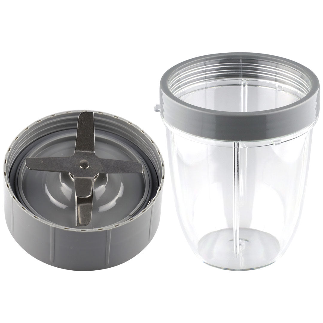 1 Extractor Blade + 1 18 oz Short Cup with Lip Ring Nutribullet Combo NB-101