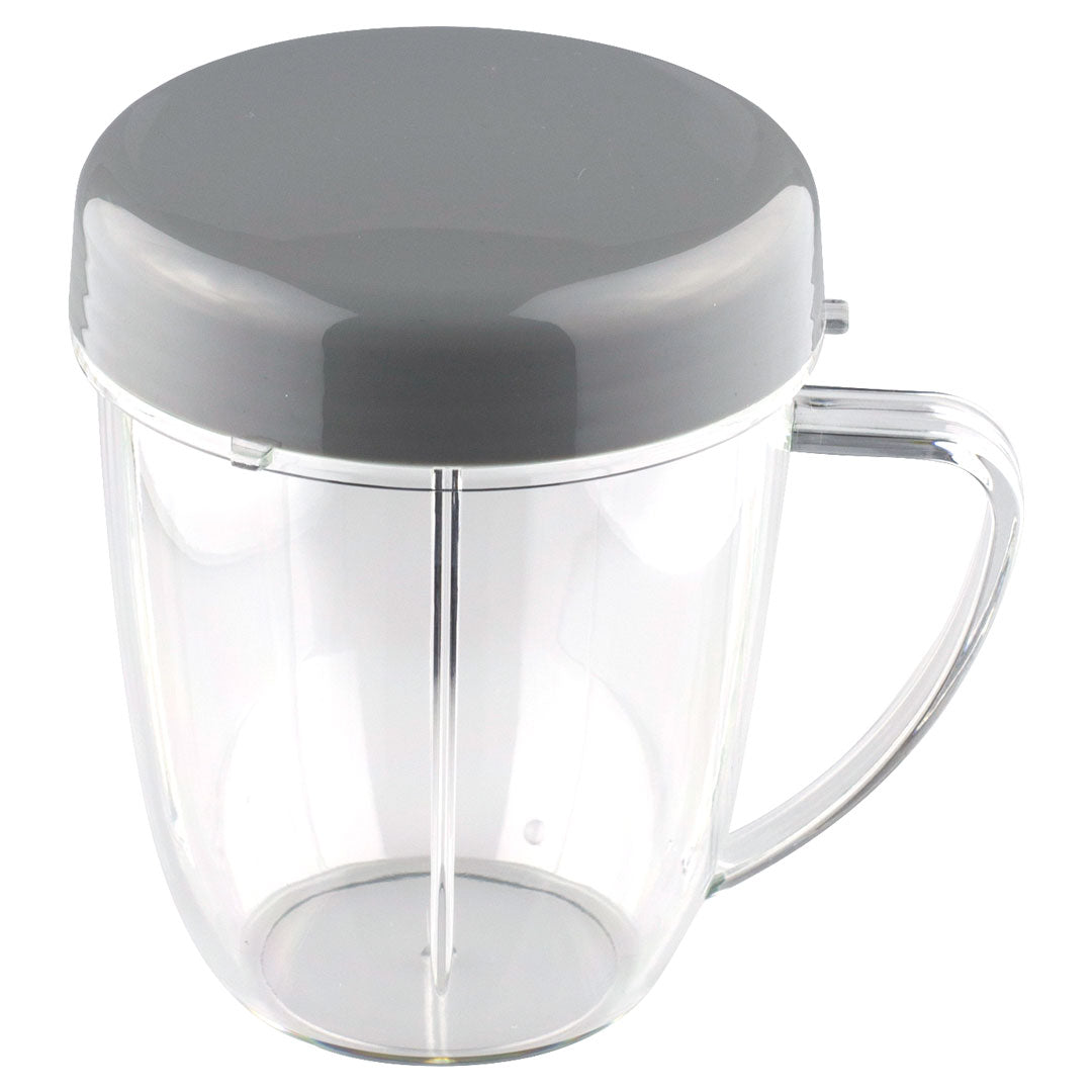NutriBullet 18 oz Handled Short Cup with 1 Stay Fresh Lid