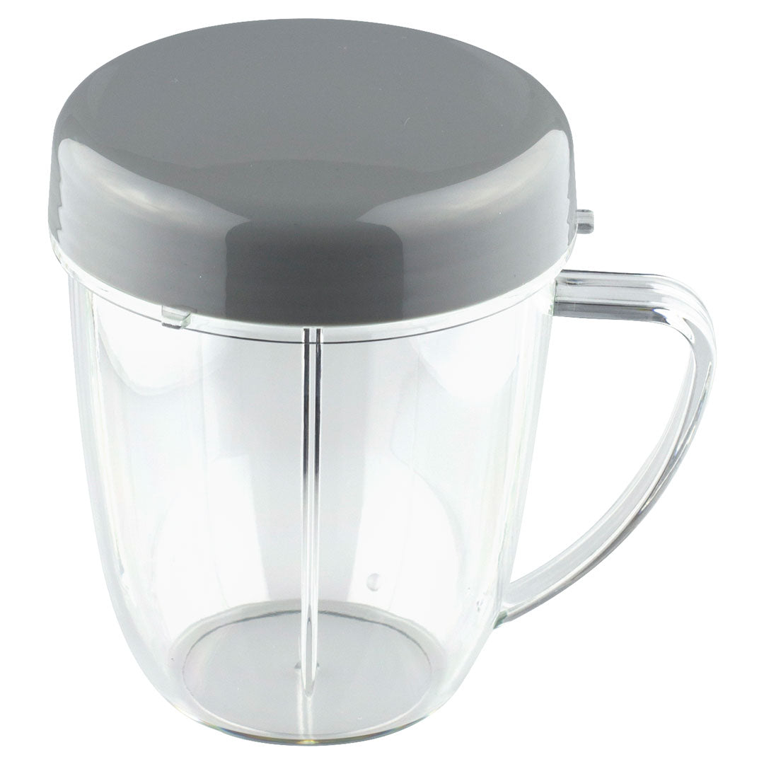 18 oz Handled Short Cup w/ Stay Fresh Lid for NutriBullet NB-101