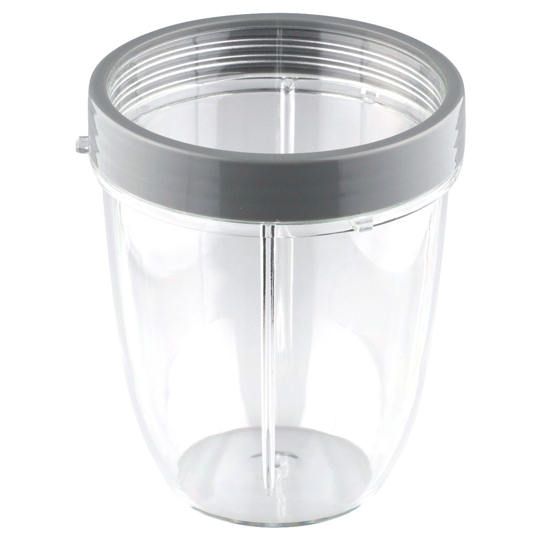 NutriBullet 18 oz Short Cup with 1 Handled Lip Ring
