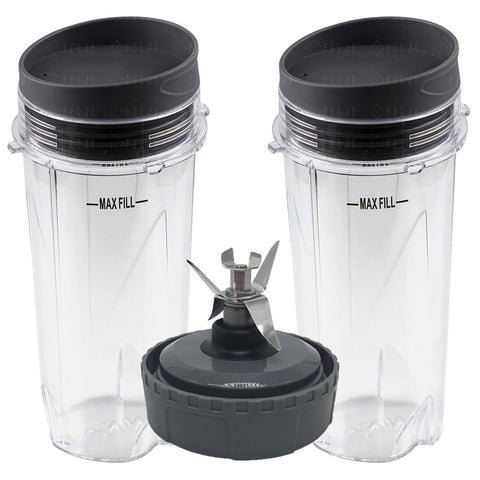 Nutri Ninja Jumbo Multi-Serve 32 oz Cup Replacement Model 407KKU641